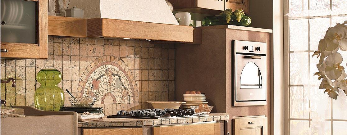 Stunning Piastrelle Rustiche Cucina Contemporary - Home Interior ...
